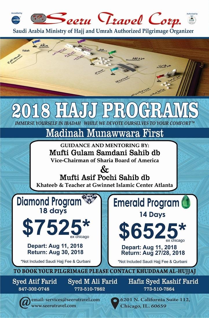 2019 Hajj Program   Seeru Travel Corp